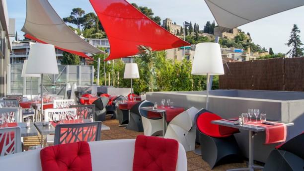 O'zé - Casino Barrière Cassis Vue de la terrasse