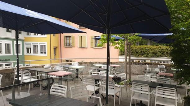 Café Milo Vue de la terrasse