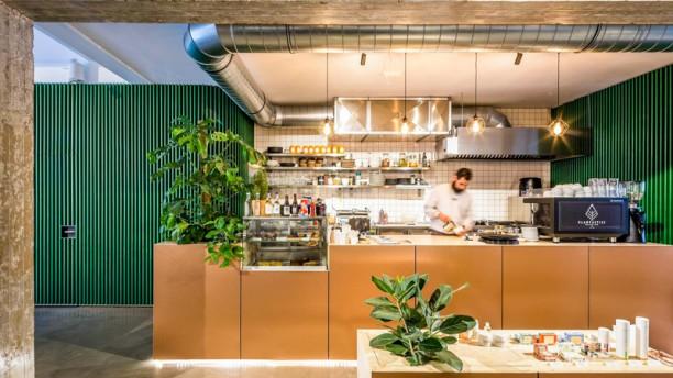 Plantastic's Streetfood Kitchen Het restaurant