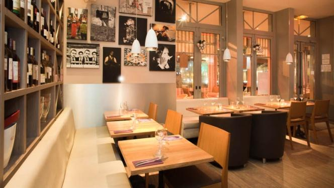 Vue salle - Le Novo - Burgers . Tartares . Tapas, Aix-en-Provence