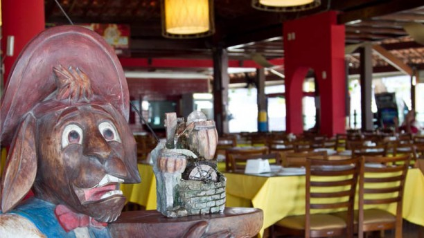 Bode do Nô - Boa Viagem sala do restaurante