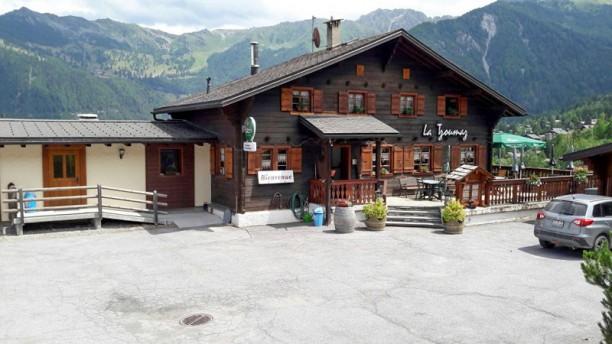 Café-Restaurant la Tzoumaz Sàrl Extérieur