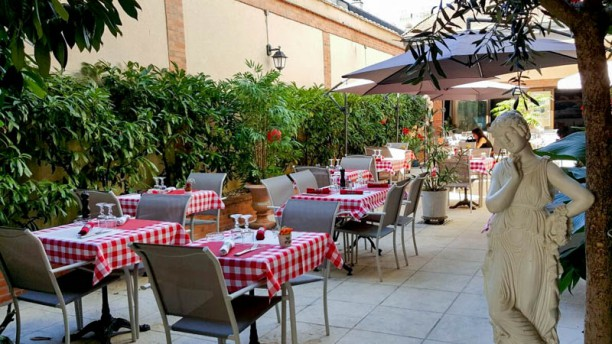 Le Patio Gourmand Terrasse