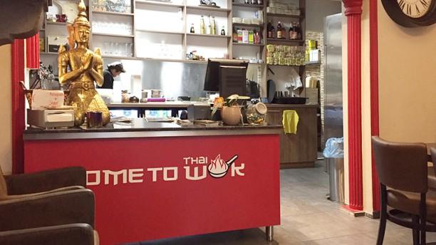Come to Thai Wok Haarlem Het restaurant
