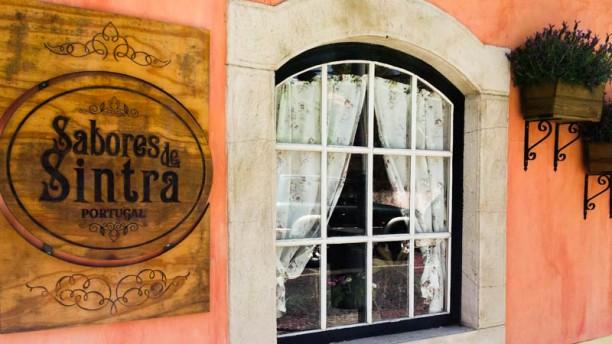 Sabores de Sintra entrada principal - logo