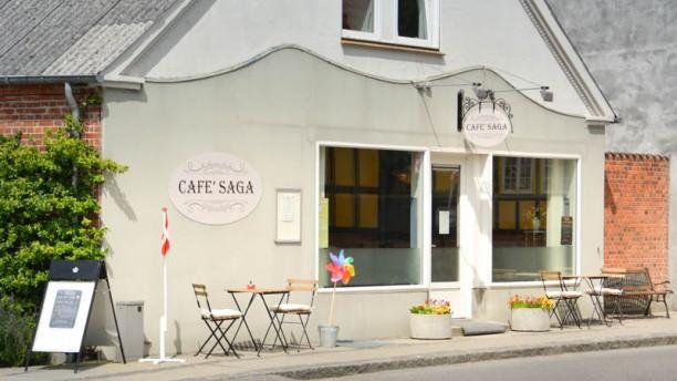Cafe' SAGA Hobro Ingång