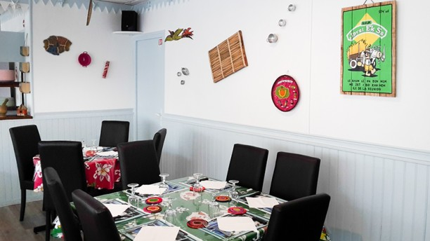 restaurant la p 39 tite cuill re cr ole sucy en brie 94370. Black Bedroom Furniture Sets. Home Design Ideas