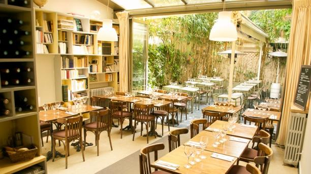 Restaurant le square marcadet paris 75018 montmartre for Restaurant avec jardin paris