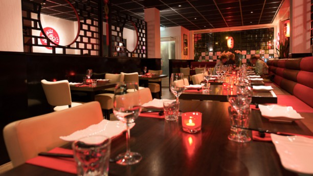 Asian Flavours Restaurantzaal