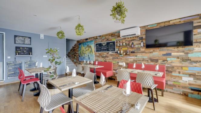 Salle du restaurant - High Cube, Marseille