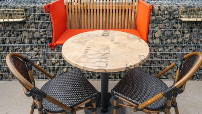 Table dressée - High Cube, Marseille