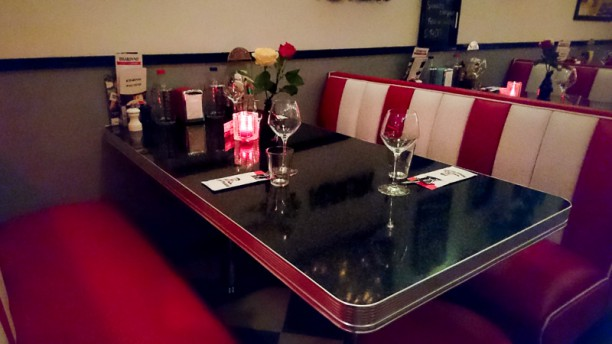 American Steakhouse Betty Boop Restaurantzaal