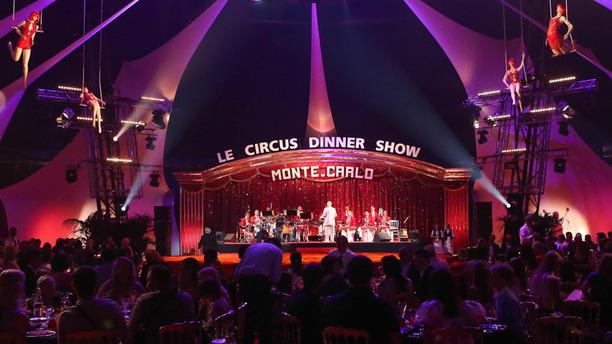 Circus Dinner Show  Monte-Carlo Un dîner-spectacle unique sur la Côte d'Azur