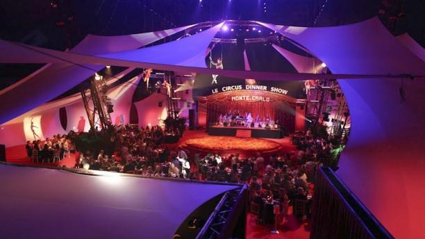 circus dinner show monte carlo in monaco restaurant reviews menu
