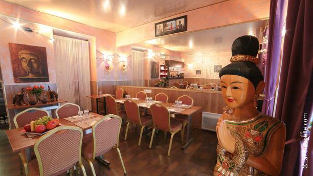 Mae Nam Choaphraya Salle du restaurant