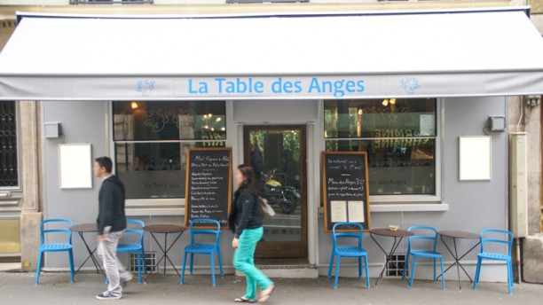 La Table des Anges Terrasse