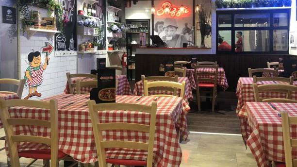 O Mamma Mia - Gourmet Experience Vista de la sala