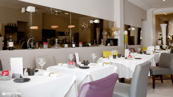 Vue de la salle - Le Bistrot Gourmand, Nice