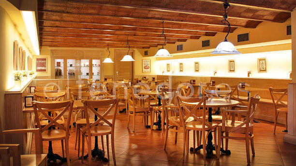 Café Santa Lucía vista sala