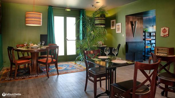 Le Club Première salle de restaurant