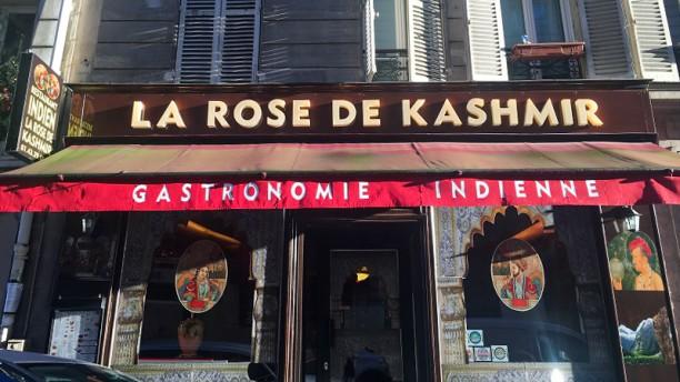 La Rose du Kashmir Entrée