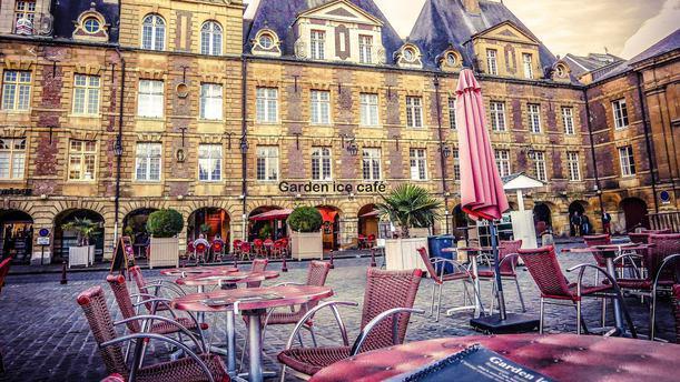 Garden Ice Café Charleville-Mézières Terrasse