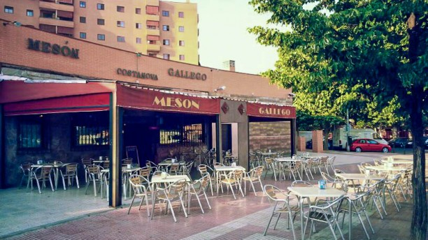 Mesón Gallego Costanova El restaurante