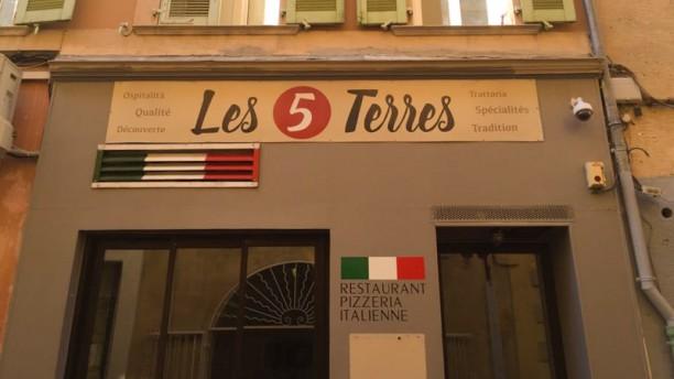Les 5 Terres Façade du restaurant