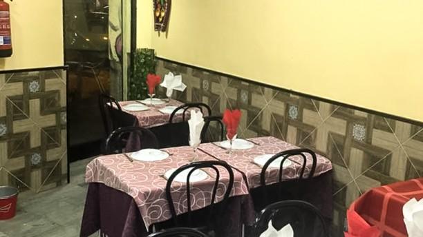Delhi Darber Sala del restaurante