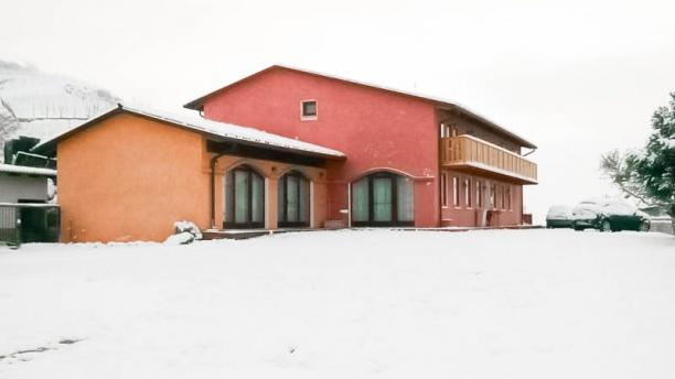 La Preara vista nella neve