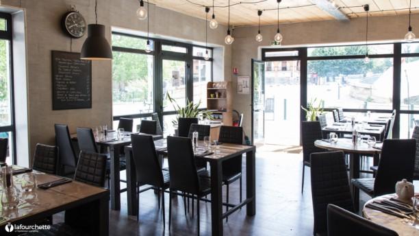 Meli's Café Vue ensemble de la salle