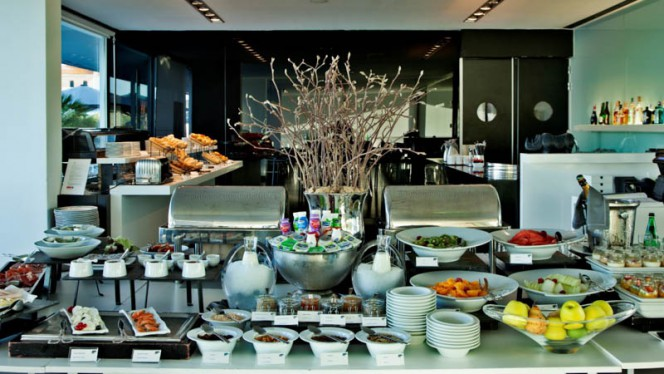Vista sala - Cafetaria Mensagem - Altis Belém Hotel & Spa, Lisboa