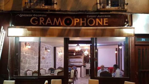 Le Gramophone devanture