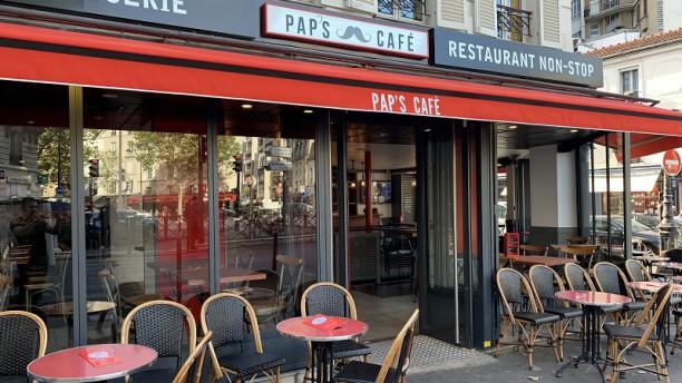 Pap's Café Vue de la terrasse