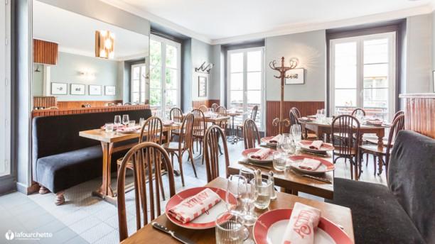 Restaurant Astier Salle du restaurant