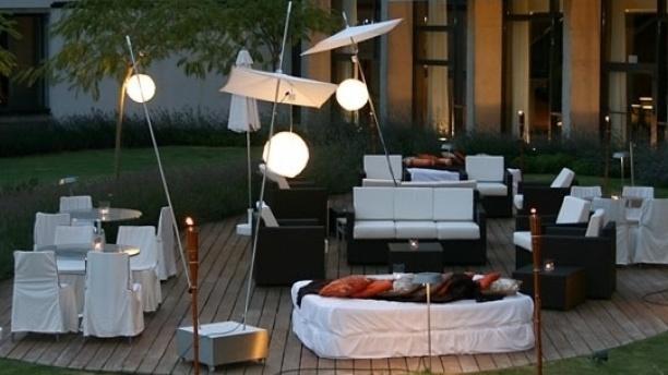 Quimera - Hotel Meliá Golf Vichy Catalán Vista terraza