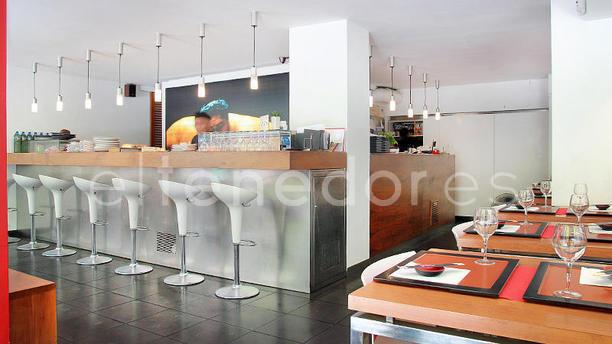 Kin SushiBar vista interior