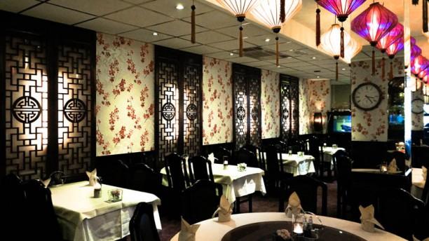 Dynasty restaurantzaal