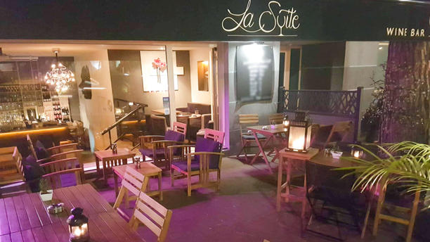 La Suite Wine Bar Terrasse