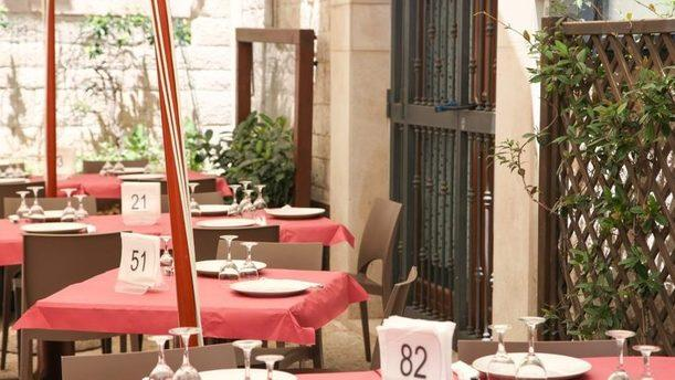 Pizzeria Borgo Antico terrazza esterna
