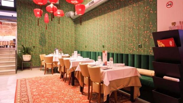 Chinese Garden Vista de la sala