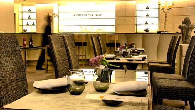 Vista Sala - Hikari Sushi Bar - Hotel Hesperia Madrid, Madrid