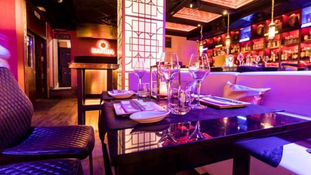 Buddha Marbella Music Bar Vista sala