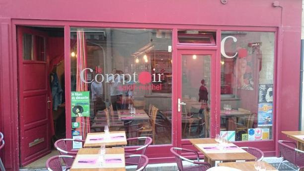 Le Comptoir St Michel Façade du restaurant