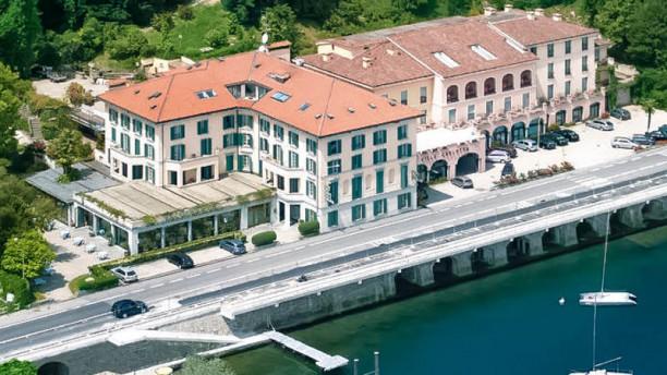 Hotel Villa Carlotta vista dall'alto