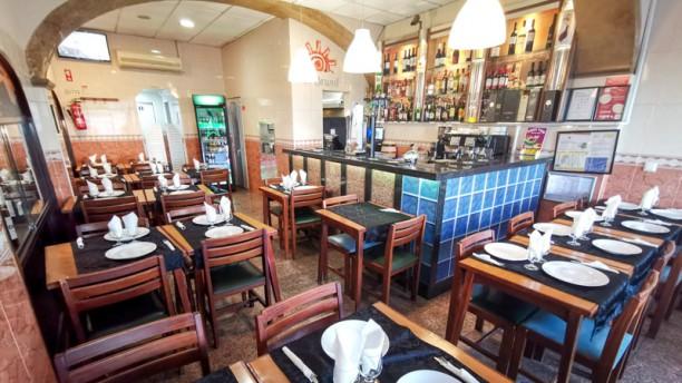 Restaurante Sol Brasil Vista do interior