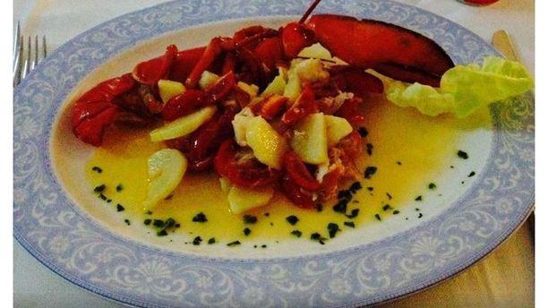 Sabbia d'Oro Astice e patate