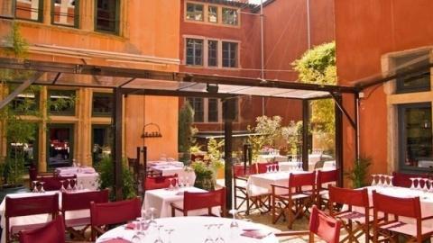 Les Terrasses - Hôtel La Tour Rose, Lyon
