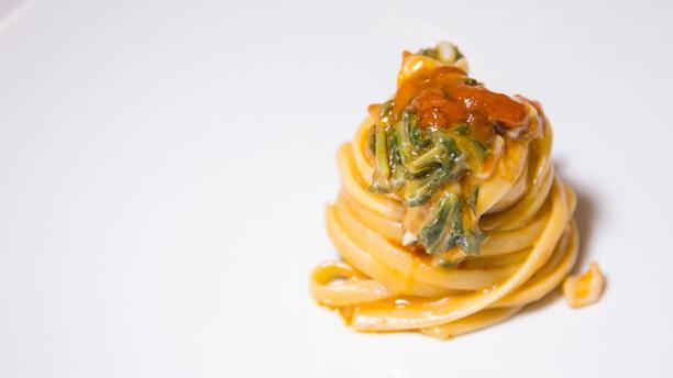 L'Ottava Nota Spaghetti tenerumi calamari e ricci