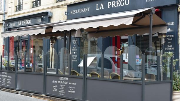 La Prego Restaurant et Epicerie Italienne Facade
